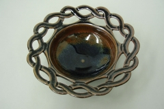 Celtic pierced bowl