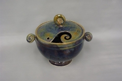 Lidded Yarn Bowl 1